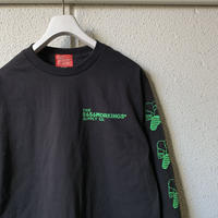 5656WORKINGS/PD TEAM L/S Tee_BLACK