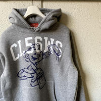5656WORKINGS/5656BOY HOODIE_GRAY