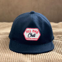 Brownie/ALL DAY CHILL MELTON B.B. CAP_BLACK
