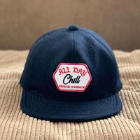 Brownie/ALL DAY CHILL MELTON B.B. CAP_BLACK