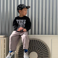 5656KIDS/OTONO-TABI SWEAT_BLACK