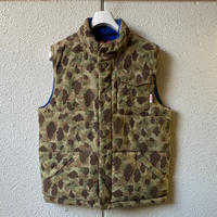 5656WORKINGS/FIELD PADDING VEST_HUNTING CAMO