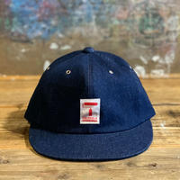 5656WORKINGS/TM LOGO WORK CAP_DENIM