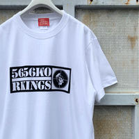 5656WORKINGS/FTP BOX LOGO Tee_WHITE