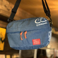 5656WORKINGS/TRAVEL SHOULDER BAG_RE-DENIM