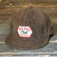 Brownie/ALL DAY CHILL CAP_BROWN