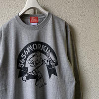 5656WORKINGS/5656BOY 20th ANNIVer.  L/S_GRAY