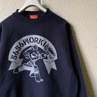 5656WORKINGS/5656BOY 20th ANNIVer. SWEAT_NAVY