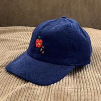 5eL6WORKINGS/BELLO APPLE CORDUROY CAP_NAVY