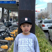 5656KIDS/TM LOGO WORK CAP_BLACK
