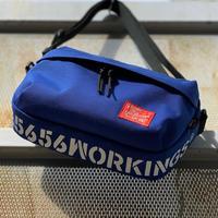 5656WORKINGS/TRAVEL SHOULDER BAG_BLUE