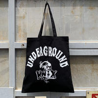 5656WORKINGS/UNDERGROUND KNOX TOTE BAG_BLACK
