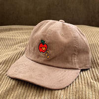 5eL6WORKINGS/BELLO APPLE CORDUROY CAP_BROWN