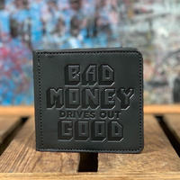 YONZY FACTORY/B.M.D.O.G.SQUARE COIN WALLET_BLACK