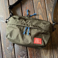 5656WORKINGS/TRAVEL NYLON SHOULDER BAG_ARMY GREEN