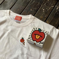 5eL6WORKINGS/APPLE Tee_WHITE