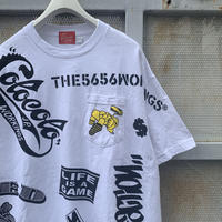 【XL size】5656WORKINGS/MP CUSTOM Tee_WHITE