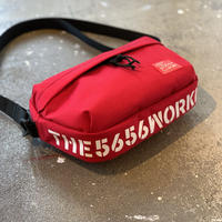 5656WORKINGS/CDR TRAVEL SHOULDER BAG_RED
