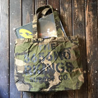 5656WORKINGS/CWS CANVAS TOTE BAG_WOODLAND