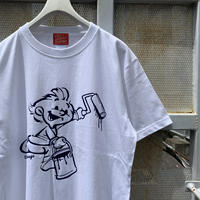 5656WORKINGS/5656BOY Tee_WHITE