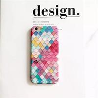 【AO071】★ iPhone6 / 6Plus / 6s / 6sPlus / 7 / 7Plus ★ モロッコ風 カラフルタイルデザイン iPhoneケース