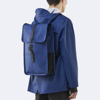 ★Rains☆【1220】  Back Pack - Blue  (L Size)   レインズ   バックパック