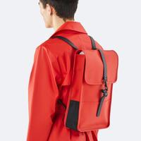 ★Rains☆【1280】  Back Pack Mini - Red   (S Size)   レインズ   バックパック ミニ