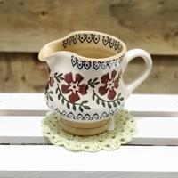 残1点【ニコラス・モス】ミルクピッチャー/オールドローズ【【Nicholas Mosse 紅茶 ティータイム陶器 萩焼 アイルランド】