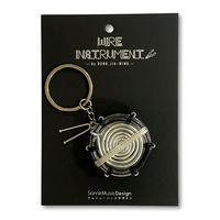 楽器ワイヤーストラップ -スネアドラム 音楽雑貨