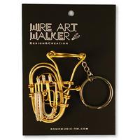 楽器ワイヤーストラップ - チューバ|音楽雑貨