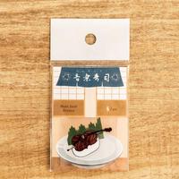 音楽寿司 シール - チェロ (5枚入り)|音楽雑貨