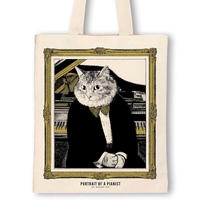 クラシックキャットトートバッグ- ピアノ|音楽雑貨