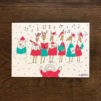 2019クリスマス限定はがき - 合唱団|音楽雑貨