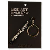 楽器ワイヤーストラップ - オーボエ 音楽雑貨