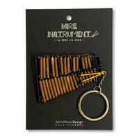 楽器ワイヤーストラップ -マリンバ|音楽雑貨