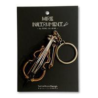 楽器ワイヤーストラップ -  コントラバス 音楽雑貨