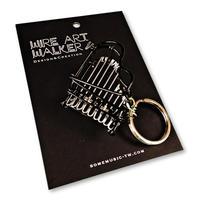 楽器ワイヤーストラップ - ピアノ|音楽雑貨
