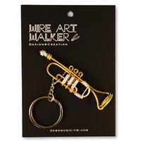 楽器ワイヤーストラップ - トランペット|音楽雑貨
