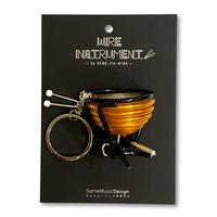 楽器ワイヤーストラップ -ティンパニ|音楽雑貨