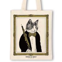 クラシックキャットトートバッグ - オーボエ|音楽雑貨