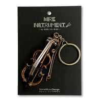 楽器ワイヤーストラップ -  チェロ|音楽雑貨