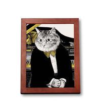 クラシックキャット肖像画  - グランドピアノ|音楽雑貨