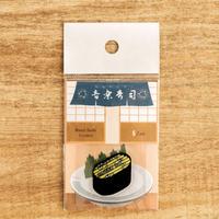 音楽寿司 シール - フルート(5枚入り)|音楽雑貨