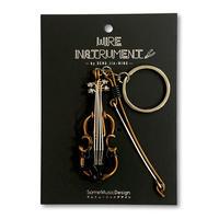 楽器ワイヤーストラップ - ビオラ|音楽雑貨
