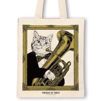 クラシックキャットトートバッグ - チューバ |音楽雑貨