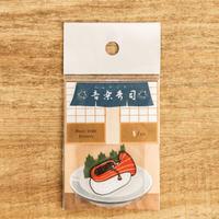音楽寿司 シール - チューバ(5枚入り)|音楽雑貨