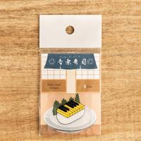 音楽寿司 シール - ピアノ (5枚入り)|音楽雑貨