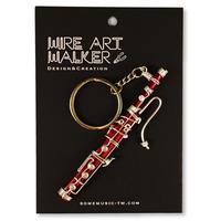 楽器ワイヤーストラップ - ファゴット|音楽雑貨