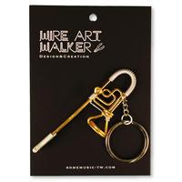 楽器ワイヤーストラップ - トロンボーン|音楽雑貨