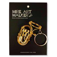 楽器ワイヤーストラップ - ユーフォニアム|音楽雑貨